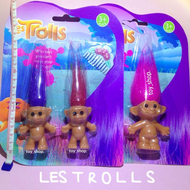 正版troll doll 公仔玩具 盒裝