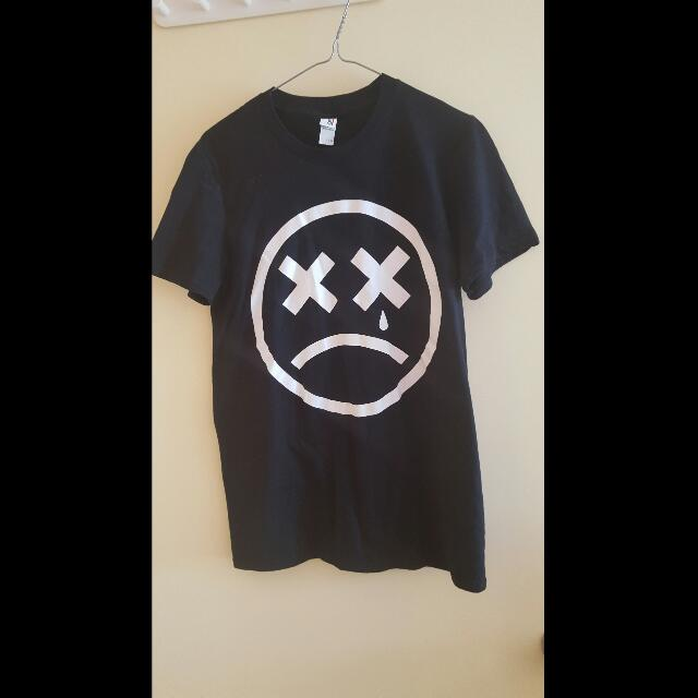 Tshirt - Black Sadboy Crew - Size Small