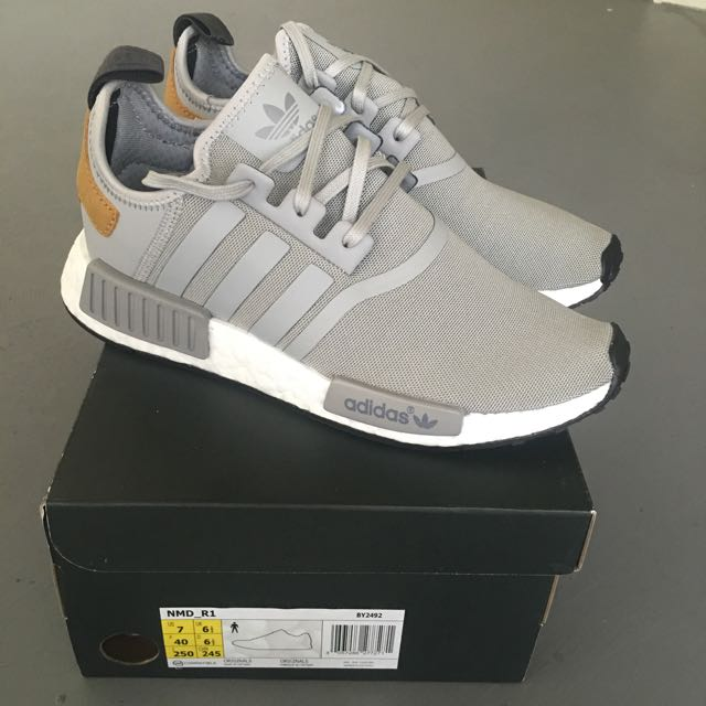 48f17c119eb29 UK6.5 US7Adidas NMD R1
