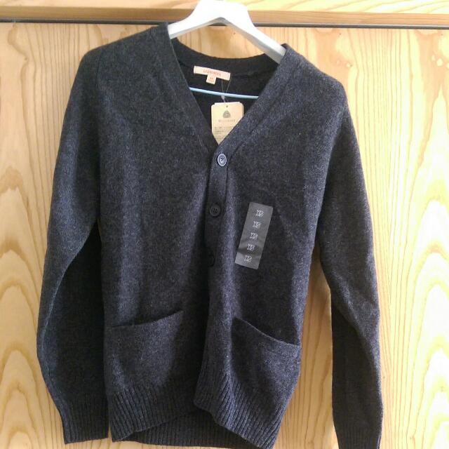 Uniqlo 全新羊毛開襟外套XS誠可議