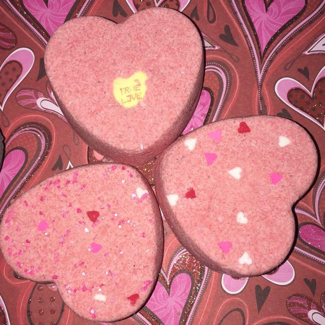 Valentine's Bath Bombs