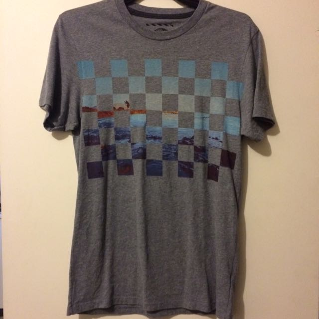 Vans Grey T-Shirt (Size S)