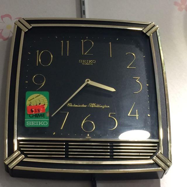 Vintage Seiko Clocks