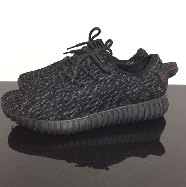 Yeezy Private Black 350 Rep AAA Size 8