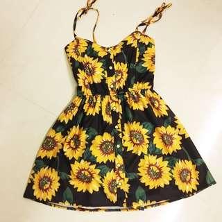 Sunflower Dress/Shorts