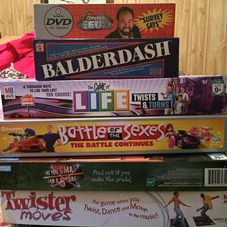 Six Awesome Board Games!