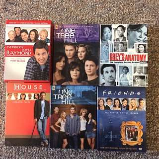 Six Beloved TV Show DVD Sets