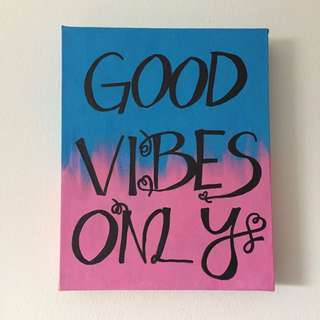 Good Vibes Room Decor