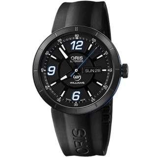 Oris TT1 Day Date WilliamsF1 機械腕錶/43mm