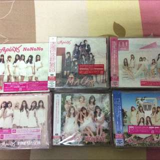 Apink Official Japan Albums (Version A)