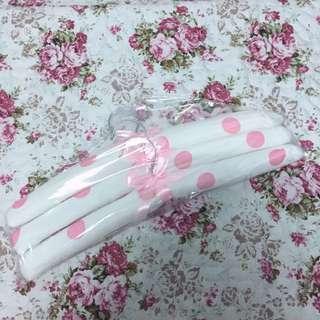 公主風衣架 粉白點點 嫁妝