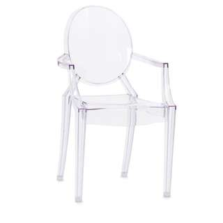 Clear Side Chair