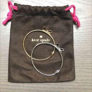 BUNDLE Bow Bangle Bracelets - Kate Spade