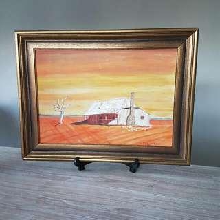 Painting-- L 43cm H 33cm -- $10
