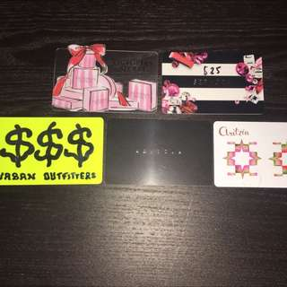 Aritzia, Urban Outfitters, Victoria's Secret, Sephora