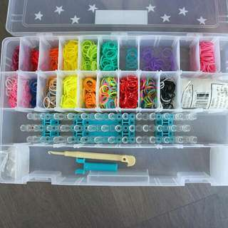 Rainbow Loom Kit With Bands