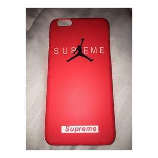 Supreme Jordan iPhone Case