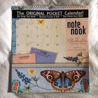 2017 The Original Pocket Calendar