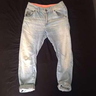 G Star 3/4 Boyfriend Jeans