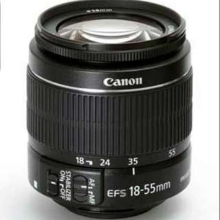 Canon Efs 18 - 55 MM Lens