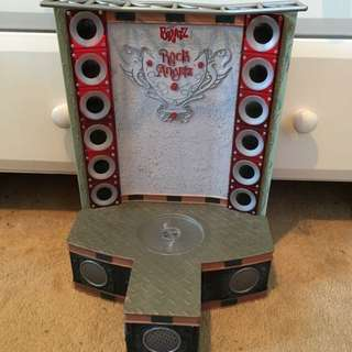 Bratz Rock Angels Toy Stage