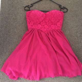 Hot Pink Formal Dress