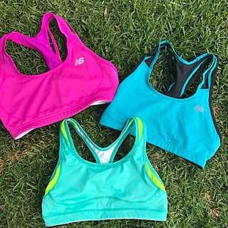 Nike/New Balance Crop Top Sports Bra