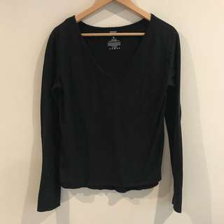 BONDS | Black Long Sleeve Shirt