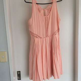 Peachy Playful Dress