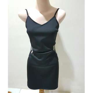 New Cloth Inc Sexy Black Dress