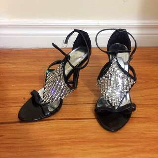 SALE!! Club Couture Square Diamond Heels