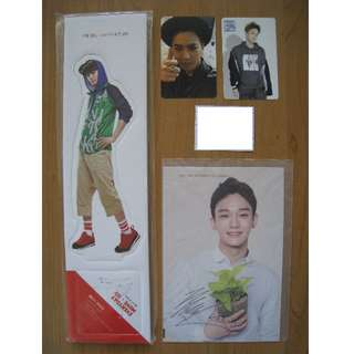 EXO poster, photocard, magazine, standee and badges / pin