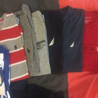 Nautica, Ralph Lauren Shirts Size S And l