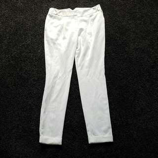 Size 10 WHITE Semi Formal  Pants