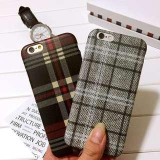 英倫風格紋iphone手機殼s044
