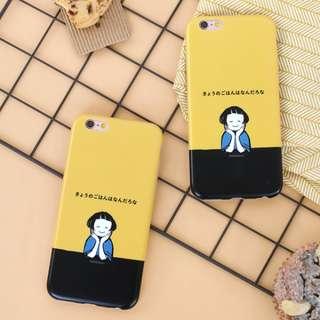 托臉女孩iphone手機殼s050