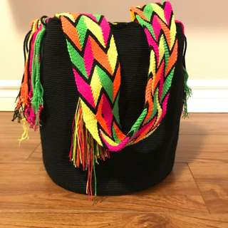 100% Authentic Colombian Wayuu Tote Bags