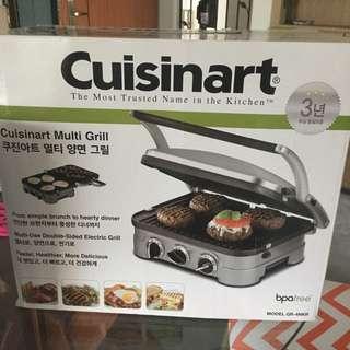 Cuisinart Multi Grill Griddler / Waffle Maker