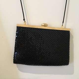 Park Lane Black Mesh Ladies Bag