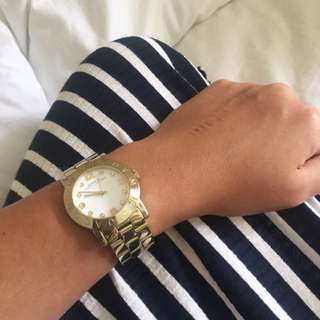 Marc By Marc Jacobs Gold Amy Watch