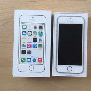 Unlock iPhone 5s - Gold- 16GB + 5 Cases