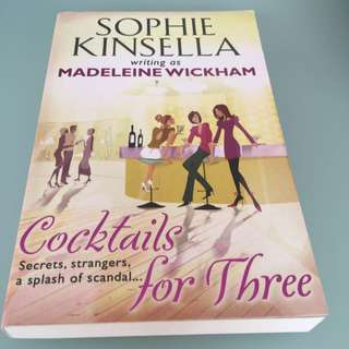Cocktails For Three By Sophie Kinsella