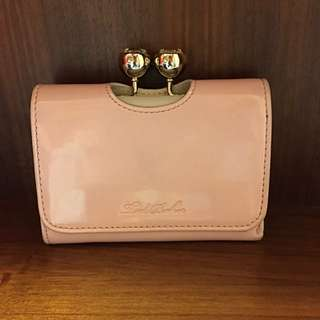 Ted Baker Wallet Baby Pink 銀包