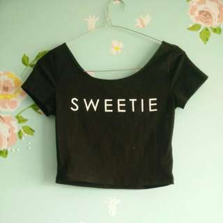 H&M Sweetie Crop Top