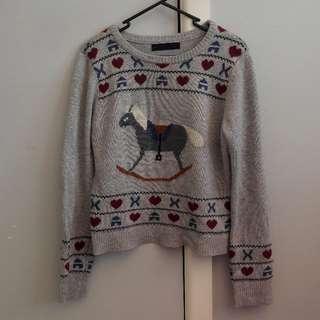 DANGERFIELD Rocking Horse Sweater
