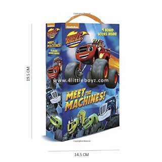 Meet the Machines! (Blaze and the Monster Machines) (Friendship Box) Board book