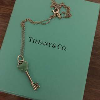 Tiffany & Co Key Heart Necklace