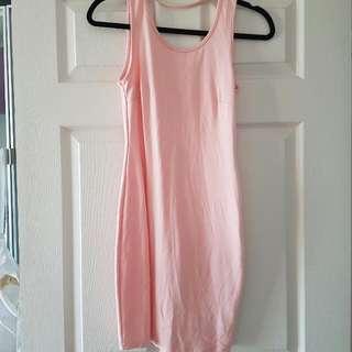 Rosebullet Pink Backless Dress Size 10