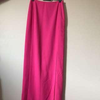 Pink Maxi Dress