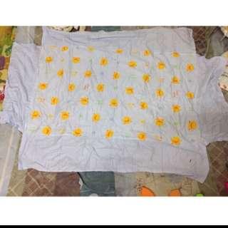 出清買黃色小鴨嬰兒床床罩送嬰兒床包